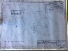 VINTAGE ORIGINAL PMG BIKE BICYCLE DRAWING BASKET POSTIE PMG GPO RARE