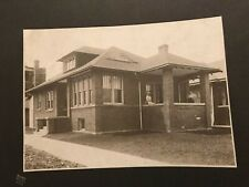 1916 Photograph Chicago Home Black And White