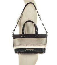 NWT BRAHMIN N70982 Mini Asher Sterling Kapoor Genuine Leather Satchel