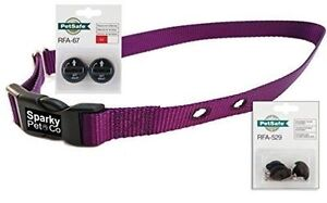 """Sparky Pet Co ¾"""" Purple Collar with RFA-67 D Battery Pack for Dog Fences"""