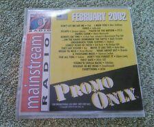 Promo Only Mainstream Radio Series CD February 2002 Pink Blink 182 Kid Rock