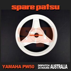 Yamaha Pw50 Peewee 50 Rear Rim Rear Wheel White Colour