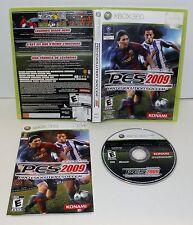 Pro Evolution Soccer 2009   Xbox 360 Complete