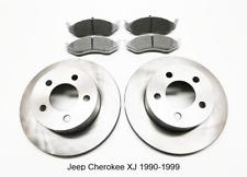Pour Jeep Cherokee XJ 2 X avant Frein Disque et Plaquettes de Frein 1990-1999