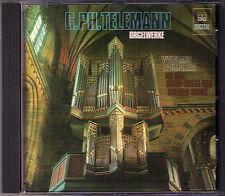 TELEMANN Organ Orgel Sonata Fantasia Concerto WOLFGANG BAUMGRATZ CD MDG MD+G
