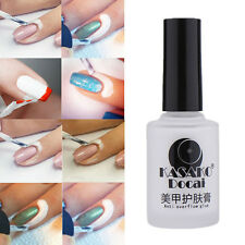 15ml White Peel Off Liquid Nail Art Tape Latex Gel Palisade For Easy Clean DIY
