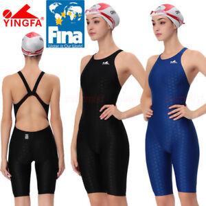 YINGFA 925 WOMEN'S COMPETITION RACING KNEESKIN SWIMWEAR SWIMSUIT [FINA APPROVED]