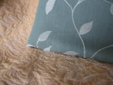 DESIGNER - JANE CHURCHILL FURNISHING FABRIC AIR FORCE BLUE LEAF DESIGN 1.65