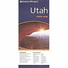 Map Utah by Rand McNally and Rand McNally Paper Folded Map Staff (2010, Map,.