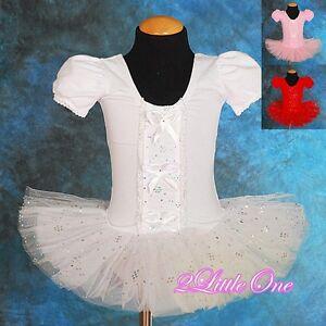 Girl Ballet Tutu Dance Costume Fairy Fancy Dress Leotard Toddler 2T-5 BA020