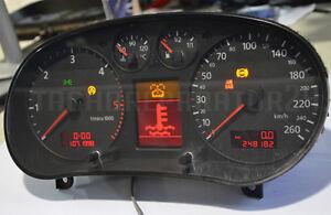 Audi A3 8L Tachoreparatur Komplettausfall .