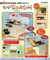 Re-ment NEW Japan Miniature Kitchen Dollhouse White Sink cabinet set