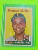 1958 Topps #452 Roman Mejias  VG/VGEX
