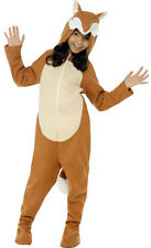 Fox Child Costume with Hood Size Small