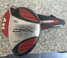 PROSIMMON DPK 3/4 HYBRID, 22' LOFT, REGULAR FLEX STEEL, LEFT HANDED, HEAD COVER