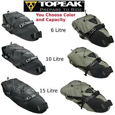 Topeak Backloader Gear Camping Bag Rear Saddle Bike Packing Roll Top 6L 10L 15L