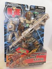 Hasbro Adventures of GI Joe 2010 Operation Sand Sting Action Figure 2000 Sniper
