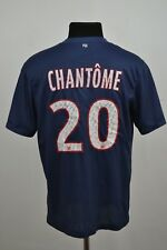 PSG Paris Saint Germain France 2012/2013 Home Football Shirt Jersey #20 Chantome