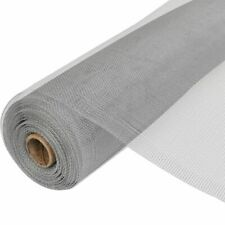 vidaXL Rotolo Zanzariera in Alluminio 100x500 cm Argento Rete Antiinsetti
