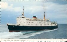 Postcard Shipping Isle Of Man Ferry Lady of Mann Bamforth card unposted