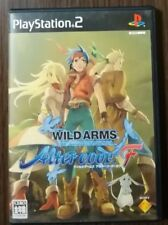 PS2 Wild Arms Alter Code F Japan