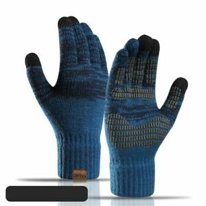 Gloves Touch Screen Acrylic Warm Mitten Outdoor Driving Cold-proof Wrist Winter