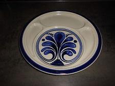 Rosenthal  Siena blau 1 Fondue Teller  Handgemalt Dm. 26 cm TOPP