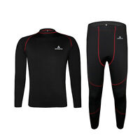 Winter Long Johns Women's / Men's Long Underwear Thermal Wear Outdoor Sport Set