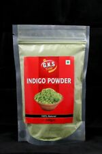 Bio Organic Indigo Powder  No Additives Pure Natural Hair Colorant/Dye - 200 gm