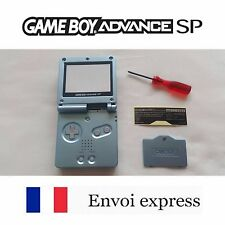Coque GAME BOY ADVANCE SP Bleu light blue NEUF NEW + tournevis - shell case GBA