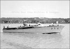 Photo: First PT Boat Delivered To US: Washington, DC, June 19, 1940