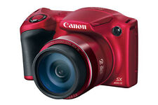 Canon PowerShot SX400 IS 16.0MP Digital Camera Red - NEW UK STOCK