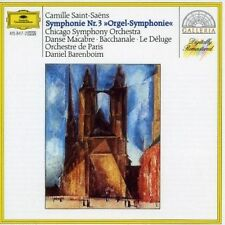 "NEW! Camille Saint-Saëns- Symphony 3 ""Organ""- Chicago Symphony Orchestra CD"