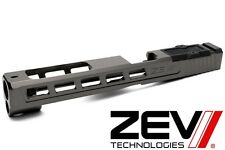 Zev Technologies Dragonfly w/ RMR & Co-Witness Titanium Gray Glock 34 Gen 1-3