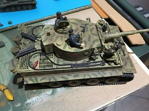 1/35 Academy Tiger 1 built tank