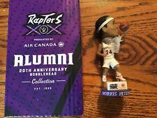 Toronto Raptors 20th anniversary Morris Peterson bobble head