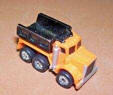 Vintage Micro Machines Tri-Axle Dump Truck