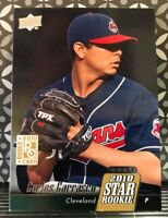 2010 UPPER DECK CARLOS CARRASCO STAR ROOKIE #7  INDIANS METS