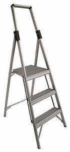 INDALEX Tradesman Aluminium Slimline Platform Ladder 1.8m/0.9m