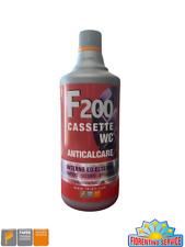 Faren F200 DISINCROSTANTE ACIDO ANTICALCARE PER  CASSETTE INCASSO WC ORIGINALE