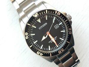 Citizen Eco Drive Promaster Watch E168-S081491 Stainless Steel Bracelet