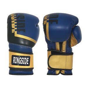 Ringside Bullet Leather Boxing & Kick KickBoxing Sparring Training Bag Gloves