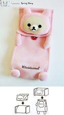 (Light Pink) Japanese Anime San-X Rilakkuma Relax Bear Tissue Cover Case