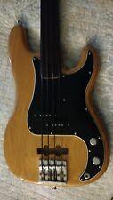1976 Fender Precision Bass Fretless