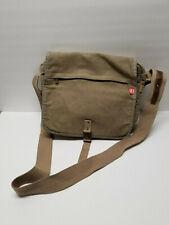 Diesel Canvas Messenger Bag Purse Shoulder Bag Olive Green
