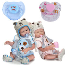 2PCS Reborn Doll Supplies Dummy Pacifier+Magnet For Reborn Baby Kits Replace