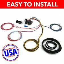 Wire Harness Fuse Block Upgrade Kit for 74-78 Ford Mustang rat rod hot rod