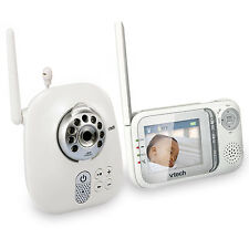 VTech VM321 Full Color Safe & Sound Night Vision Video Baby Monitor 1000ft Range