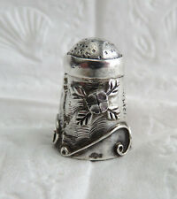 VINTAGE STERLING SILVER 925 MEXICO THIMBLE