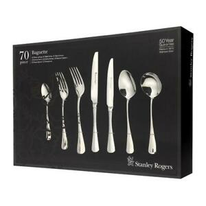 STANLEY ROGERS 70 Piece Stainless Steel BAGUETTE 70pc Cutlery Set 50567